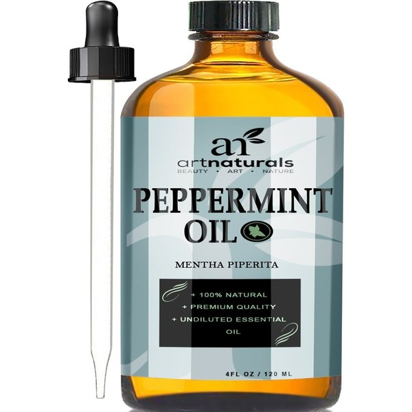 Art Naturals 4-ounce 100-percent Peppermint Oil