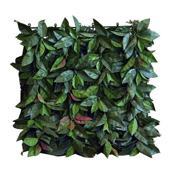 Artificial Laurel Foliage Panels (Set of 4)