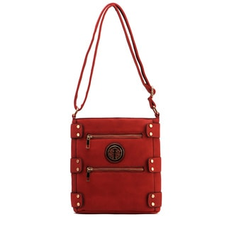 MKF Collection Adriana Multi-pocket Crossbody Handbag