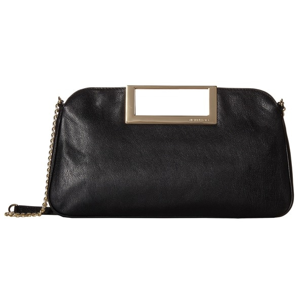 MICHAEL Michael Kors Black Berkley Large Clutch