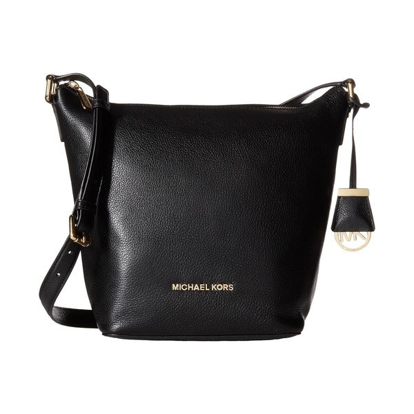 MICHAEL Michael Kors Bedford Black Medium Messenger Bag