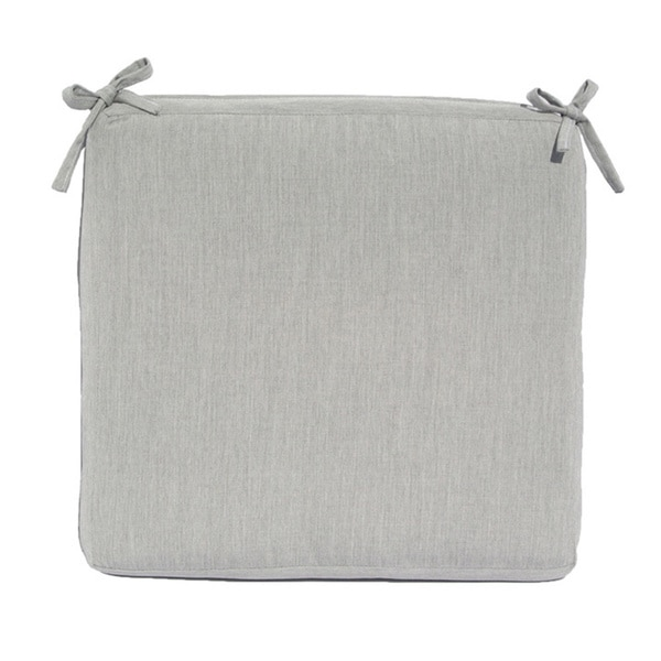Sunbrella Fabric Seat Cushion: 20 inches by 19 inches
