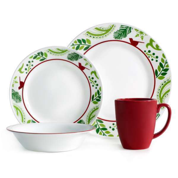 Corelle Impressions Birds and Boughs 16-piece Dinnerware Set 16701280