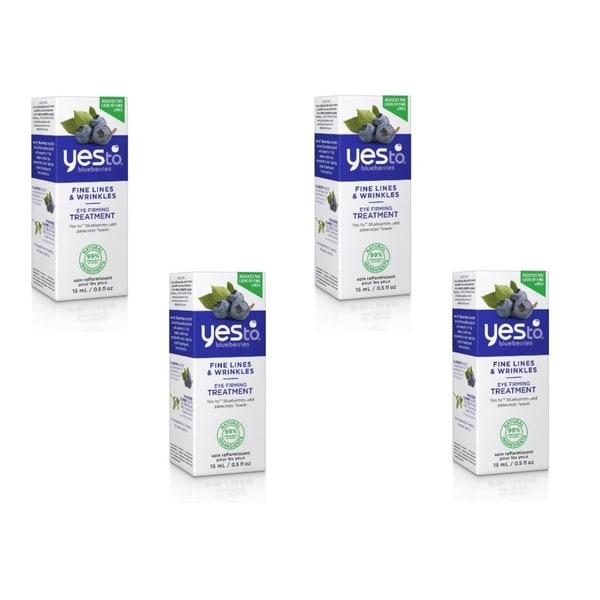 Yes To Blueberries Fine Lines & Wrinkles 0.5-ounce Eye Firming Treatment