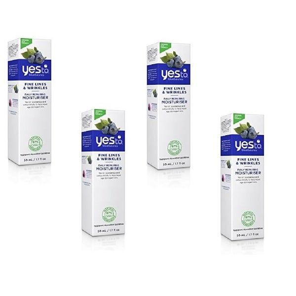 Yes To Blueberries Fine Lines & Wrinkles 1.7-ounce Daily Repairing Moisturizer
