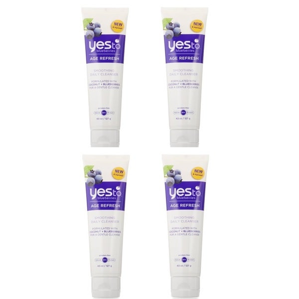 Yes To Blueberries 4.5-ounce Smoothing Cleanser
