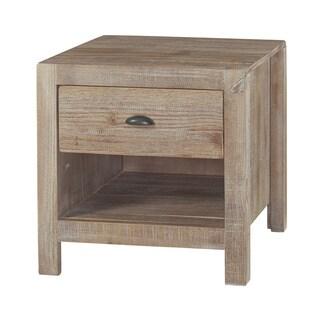 Grain Wood Furniture Montauk 1-drawer Nightstand Solid Wood