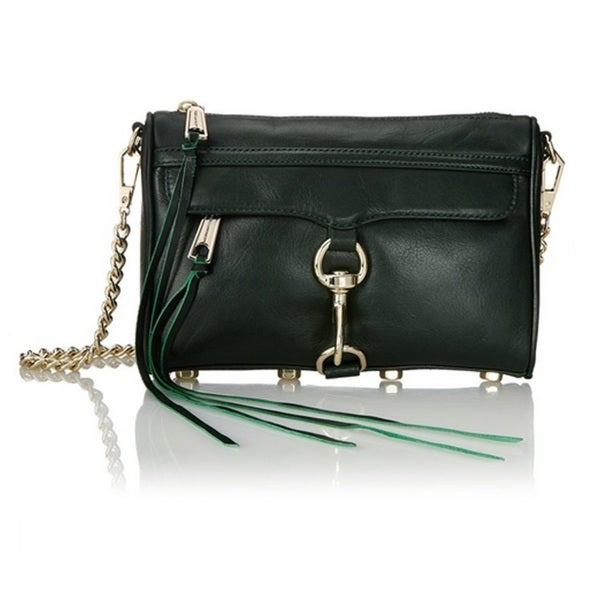 Rebecca Minkoff Mini Mac Crossbody - Dark Forest