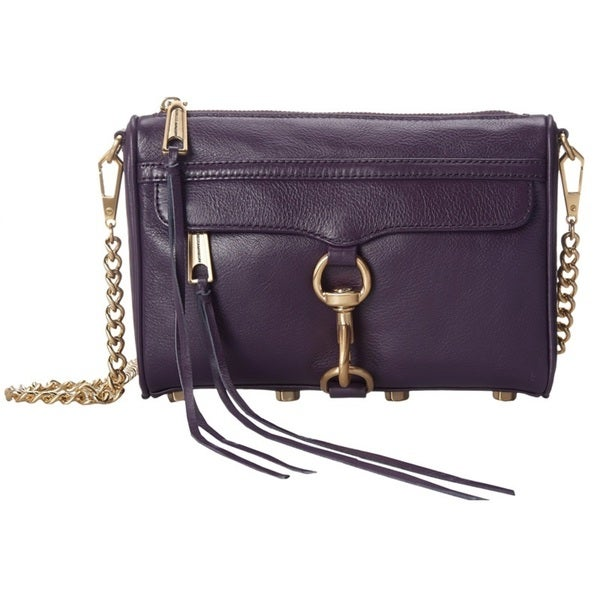 Rebecca Minkoff Mini Mac Crossbody - Aubergine