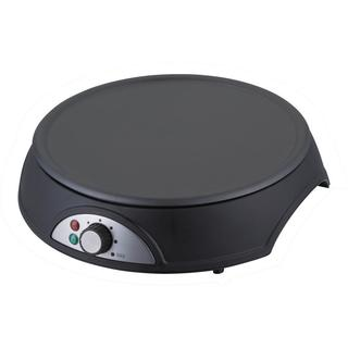 NutriChef PCRM12 Black Electric Crepe Maker / Griddle, Hot Plate Cooktop