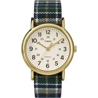 Timex® Weekender Plaid Watch