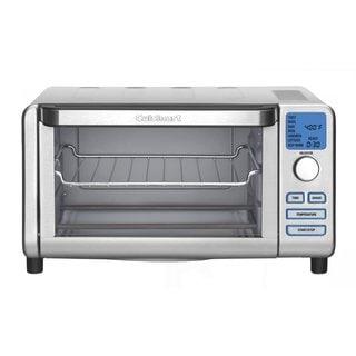 Cuisinart TOB-100 Compact Digital Toaster Oven Broiler (Refurbished)