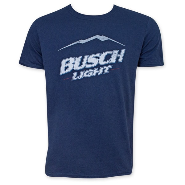 Busch Light Mountain Logo T-Shirt
