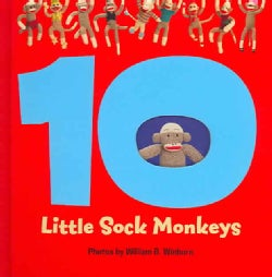 10 Little Sock Monkeys (Hardcover)