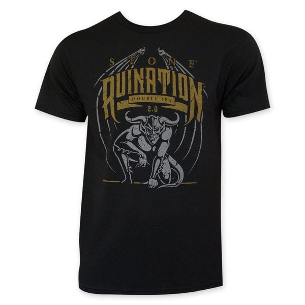 Stone Men's Black Ruination IPA T-Shirt