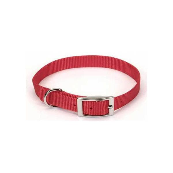 "C Nyl Collar 5/8""x12""-red"