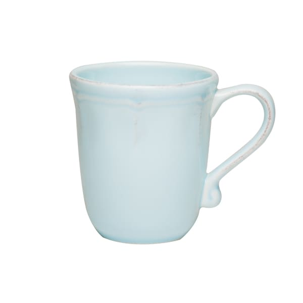 Countryside Whisper Blue Provence 14-ounce Mug (Set of 4)
