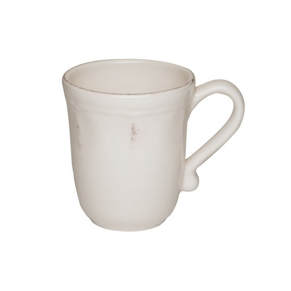 Countryside Cream Provence 14-ounce Mug (Set of 4)