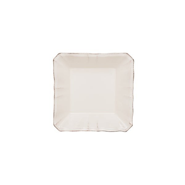 Countryside Cream Square 7.25-inch Soup/ Cereal Bowl (Set of 4)