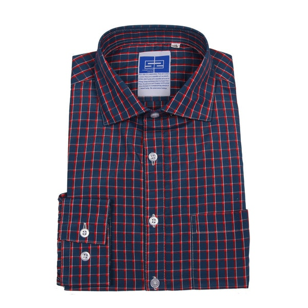 Complicated Shirts Men's Blue Check Shirt