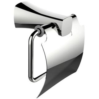 Brass Constructed Toilet Paper Holder In Chrome