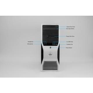 Dell Precision 380 MT 3.4GHz Intel Pentium D 2GB RAM 250GB HDD Windows 7 Computer (Refurbished)