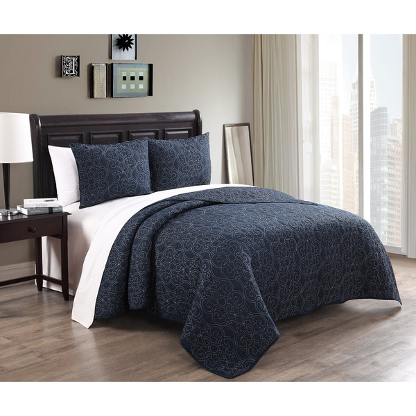 Alia 3-piece Cotton Quilt Set