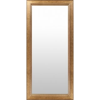 Maldon Wood Framed Large Size Rectangular Wall Mirror