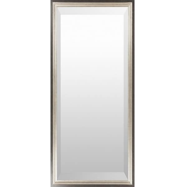Renata Wood Framed Large Size Rectangular Wall Mirror