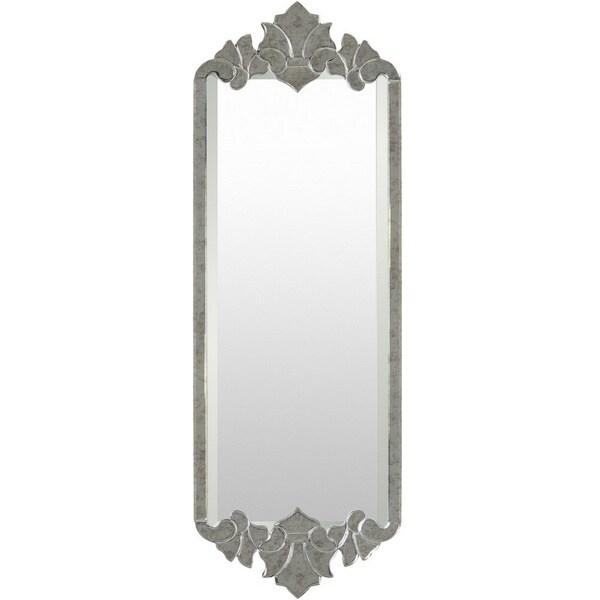 Johnny MDF Framed Medium Size Rectangular Wall Mirror