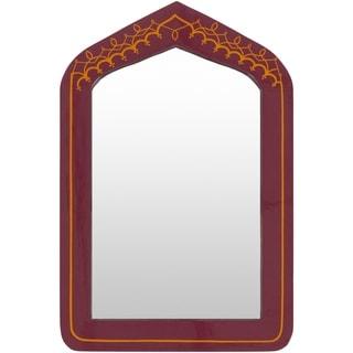 Amiyah MDF Framed Medium Size Wall Mirror