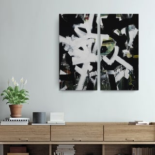Abstract XXIII' Wrapped Canvas Wall Art