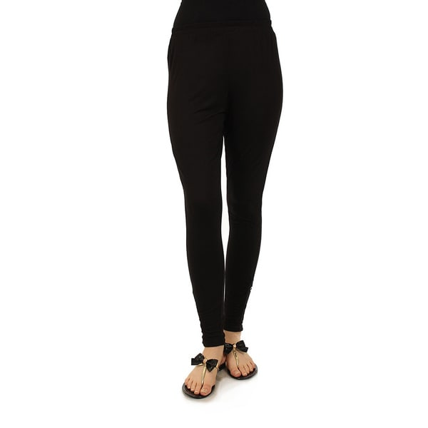 Firmiana Women's Plus Black Long Pants