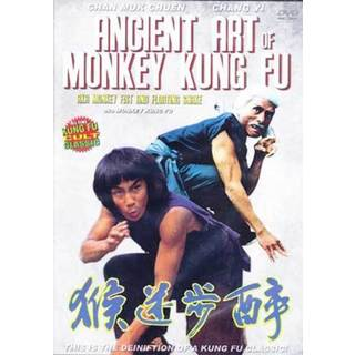 Ancient Art of Monkey Kung Fu movie DVD action martial arts