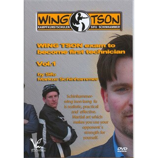 European Wing Tson Kung Fu Exam #1 DVD Markus Schinhammer chun chi sao