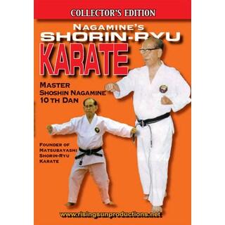 Nagamine Okinawan Shorin Ryu Karate DVD 10th dan black belt