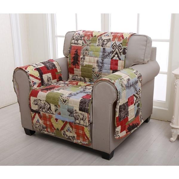 Rustic Lodge Furniture Protector, Armchair