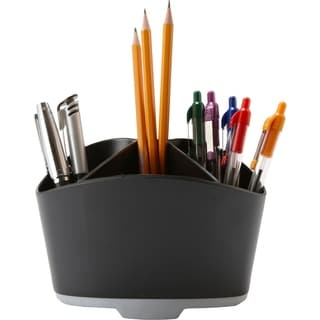 Storex Rubber Grip Mini Desk Organizer (Case of 6)