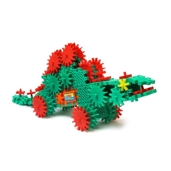 MoGee Motorized Gears Dino Gears Advanced Building Kit - Stegosaurus