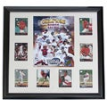 Custom Framed Boston Champs Composite with Cards