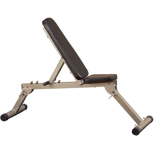 Best Fitness Flat/ Incline/ Decline Folding Bench (As Is Item)