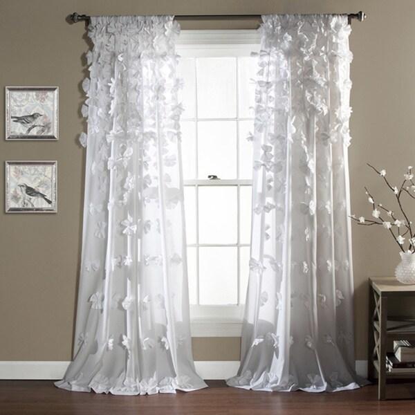Lush Decor Riley Window Curtain Panel (As Is Item)