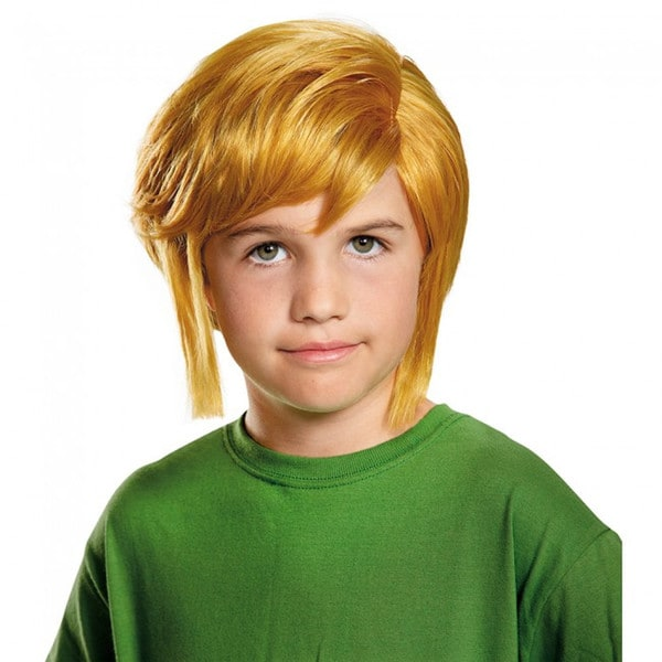 Link Zelda Child Wig The Legend of Zelda Accesory Costume Blonde Video Game