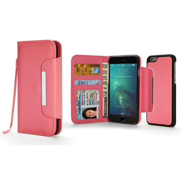 URGE Folio Wallet Phone Case with Magnetic Clasp for Apple iPhone 6 Plus/ 6s Plus