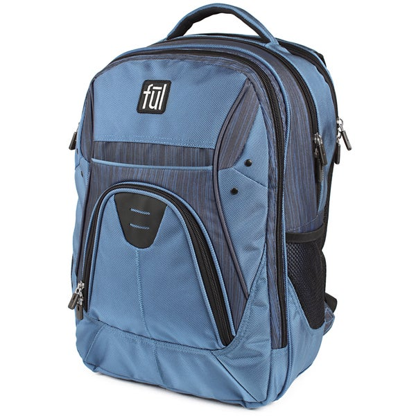Ful Gung-Ho Blue 15-inch Laptop Backpack