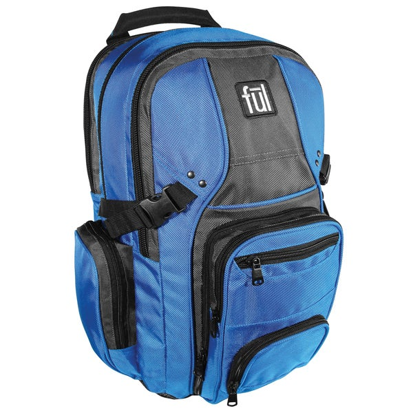 Ful Tennman Blue 17-inch Laptop Backpack