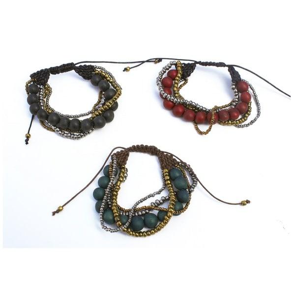 Potosi Acai Seed Bracelet (Bolivia)