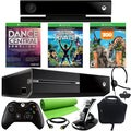 Xbox One 500GB 3 Game Kinect Holiday Bundle with Accessories- Green