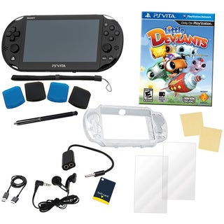 PS Vita Bundle with Little Deviants & 14 in 1 Kit
