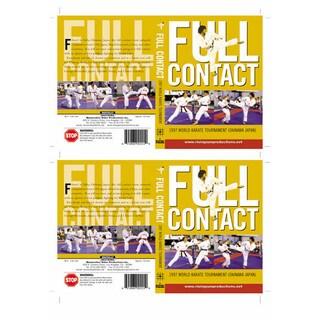 Full Contact 1997 World Karate Tournament Naha Okinawa Japan
